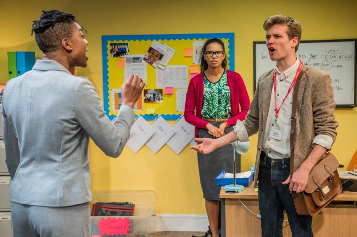 School Play, Southwark Playhouse, London, UK 01 Feb 2017,