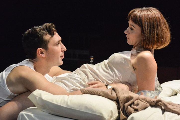 Kiss Me - production images - Ben Lloyd-Hughes and Claire Lams - Photos by Robert Day 10