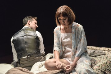 Kiss Me - production images - Ben Lloyd-Hughes and Claire Lams - Photos by Robert Day 9