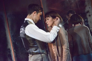 Kiss Me - production images - Ben Lloyd-Hughes and Claire Lams - Photos by Robert Day