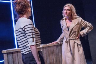 Punts, Theatre503 - Clare Lawrence Moody and Florence Roberts (courtesy of Claudia Marinaro)