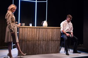 Punts, Theatre503 - Florence Roberts and Graham O_Mara (courtesy of Claudia Marinaro)