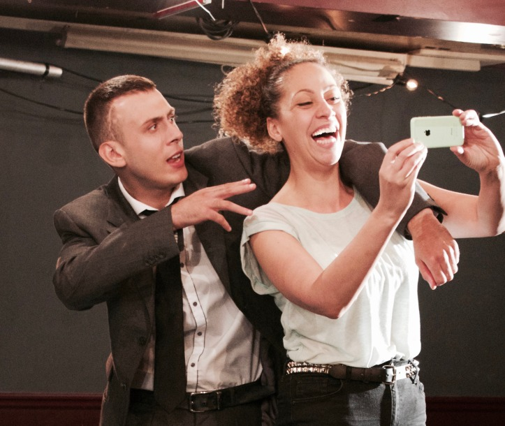 Rhys Yates (Simeon) & Michelle Barwood (Abigail)