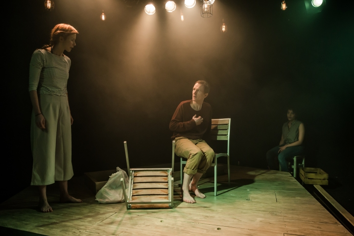 Niall Bishop and Eva-Jane Willis in Tiny Dynamite, by Richard Davenport (3)
