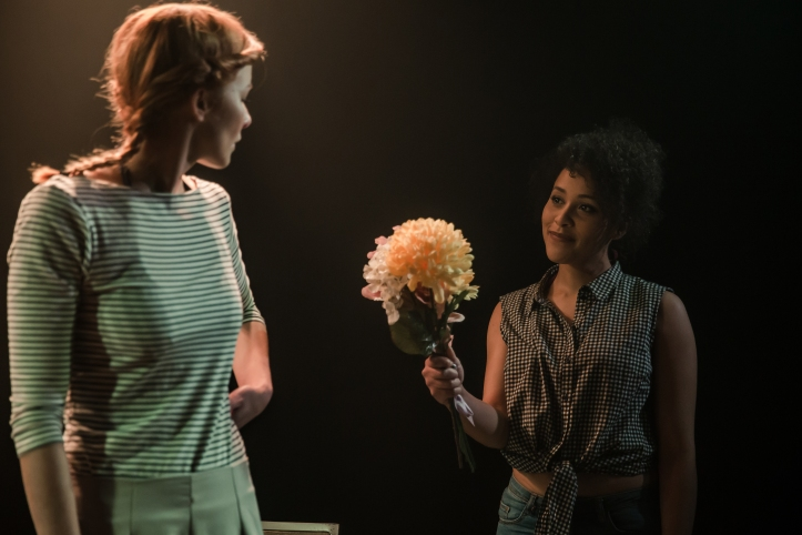 Tanya Fear and Eva-Jane Willis in Tiny Dynamite, by Richard Davenport (2)