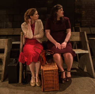 Leila Sykes and Madeline Gould in Think of England, credit of Ali Wright (2)