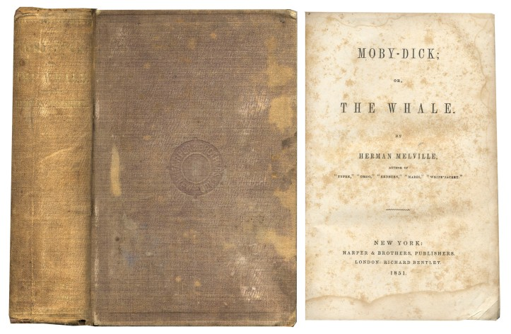 First Edition Moby Dick