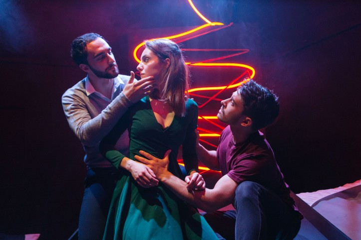 Gianbruno Spena, Helena Wilson and Alistair Toovey, Love Me Now, credit of Helen Murray