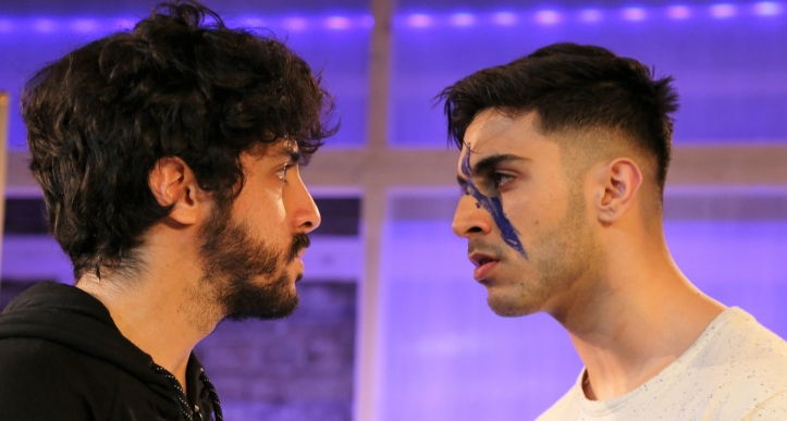 Moormaid, Arcola Theatre (Ali Azhar and Moe Bar-El) - courtesy of Anika Wagner