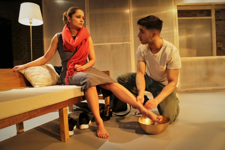 Moormaid, Arcola Theatre (Sarah Alles and Moe Bar-El) - courtesy of Anika Wagner