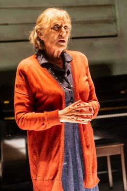 Not Talking at the Arcola Theatre. Kika Markham (Lucy) Photo by Lidia Crisafulli_preview