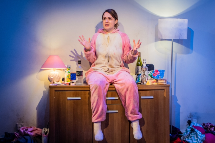 Original Death Rabbit - Rose Heiney - Jermyn Street Theatre - 8th January 2019 Director - Hannah Joss Designer - Louie Whitemore