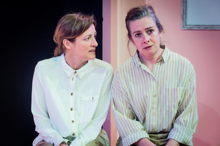 Mary's Babies - Maud Dromgoole - Jermyn Street Theatre - 20th March 2019Director - Tatty Hennessy Designer - Anna Reid Lighting Designer - Jai Morjaria Cast - Emma Fielding and Katy Stephens